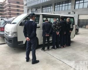 拘捕4名非法入境者