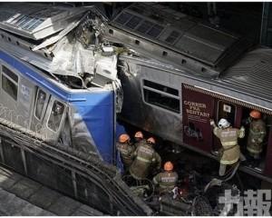 巴西火車埋站追撞釀1死8傷