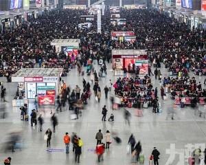 內地春運鐵路客運量首次突破4億人次