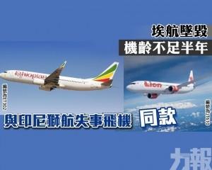 與印尼獅航失事飛機同款