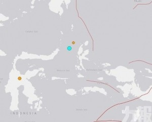 印尼一日兩震!暫無災情傳出