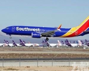 美西南航空一架無載客同型機需緊急折返