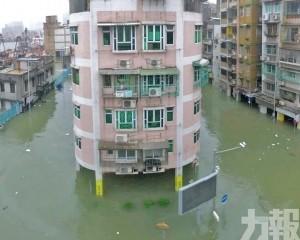 統計局向上修正「山竹」經濟損失為17.36億元