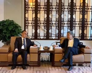 陳寶生部長:全力支持澳大發展