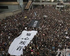 港「反修例」遊行144萬人上街