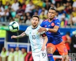 阿根廷美洲盃吞哥倫比亞兩蛋
