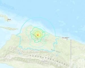印尼東部發生6.3級地震