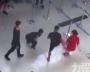 越南三惡漢惱羞成怒大鬧機場