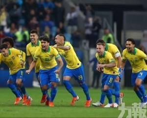 「森巴兵團」率先晉美洲盃4強