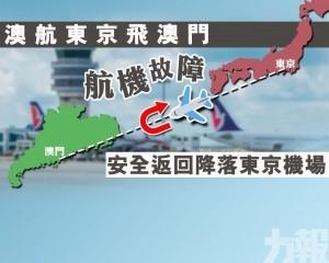 安全返回降落東京機場