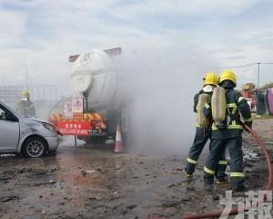 模擬液化石油氣缸車交通意外