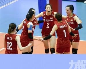 中國女排迎撼捷克