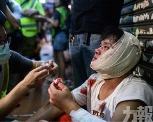 港多區衝突41傷 其中2人重傷