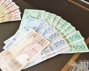 7月居民存款按月跌1.3%
