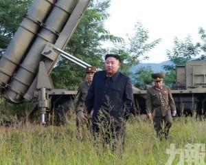 金正恩再指導超大型火箭炮試射