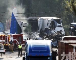 美俄亥俄州小型貨機墜毀釀2死
