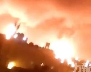 沙特兩處石油設施遭無人機襲擊起火
