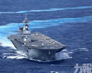 日自衛隊10月海上閱兵未邀韓