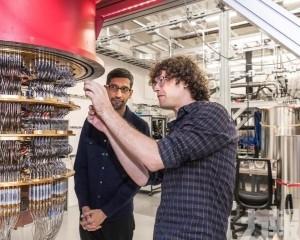 谷歌稱在量子計算領域取得突破