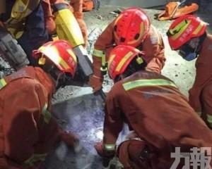 貴陽在建地下停車場倒塌8死2傷