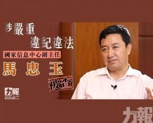 國家信息中心副主任馬忠玉被查