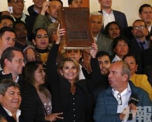 玻利維亞副議長就任臨時總統