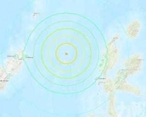 印尼馬魯古海北部發生7.1級地震