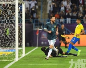 阿根廷友賽1球砌低宿敵巴西