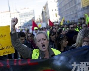 警民爆發衝突 逾百人被捕