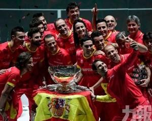 西班牙6登台維斯盃盟主寶座