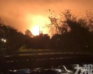 美國德州化工廠爆炸2傷