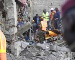肯尼亞首都民房突倒塌至少4死多人被困