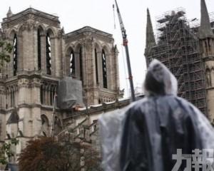 巴黎聖母院據指一半機會無法回復舊貌