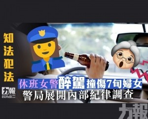 警局展開內部紀律調查