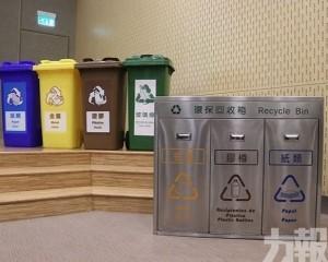 分類回收進駐大廈