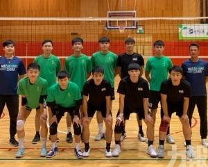 澳門男排赴台山戰廣東省聯賽