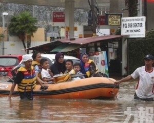印尼雅加達暴雨成災至少9人死亡