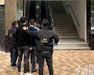 警方酒店截獲三名賣淫女
