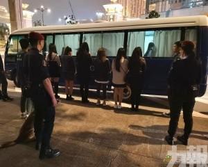 拘12人涉賣淫15宗車輛違例
