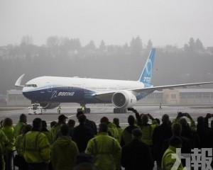 波音777X試飛成功