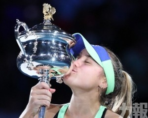 簡寧一擊即中奪澳網女單錦標