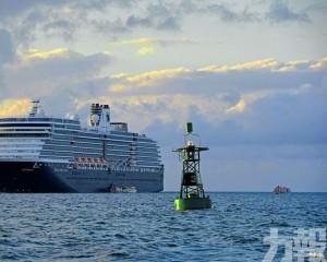 「威士特丹號」緊急制定新航線