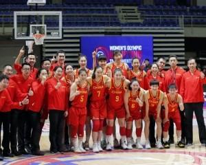 中國女籃3戰全勝闖東京奧運