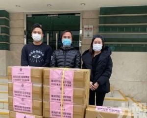 永同昌集團張宗真續向政府捐贈口罩