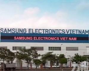 越南:或影響三星手機生產