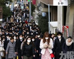 日本新增確診26例 累計769例