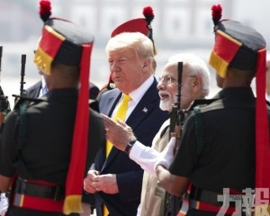 特朗普抵達印度展開訪問