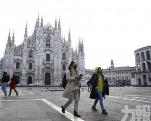 意大利爆疫瘋搶口罩