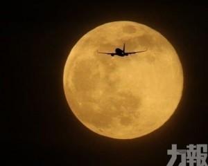 今年首個「超級月亮」明現身