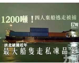 拱北破獲近年最大船隻走私凍品案